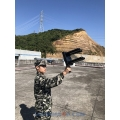 CT-4002P Portable Anti Drone 32W 2.4Ghz GPS 5.8Ghz Directional Jammer up to 700m